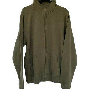 Ouray Fleece Jacket Front Pockets Mock Neck Zip up